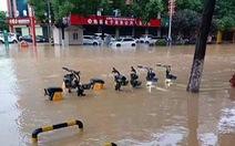 Mưa lớn ở nhiều thành phố Trung Quốc, thiệt hại kinh tế hơn 2.000 tỉ đồng