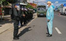 TP.HCM tiếp nhận và bố trí 371 cán bộ, chiến sĩ từ Bộ Công an tăng cường chống dịch