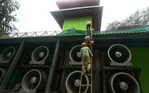 Ấn Độ làm tháp khổng lồ lọc không khí, bị chê lãng phí