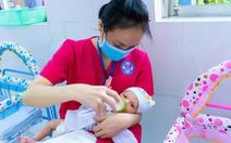 Trung tâm chăm sóc con sơ sinh của bà mẹ mắc COVID-19 ở TP.HCM