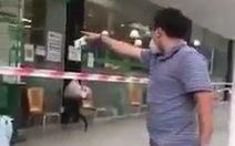 Xác minh video người đàn ông tự xưng 'Ban chỉ đạo quận 7' la lối, chửi bới ở siêu thị