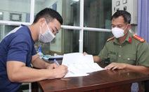 Bị mời làm việc vì tụ tập đồng hương về Hà Tĩnh bằng xe máy