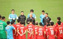 Đội tuyển Việt Nam vắng cả HLV Park Hang Seo và Tiến Linh trong ngày hội quân