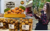 Nhãn lồng Hưng Yên bán hơn 220.000 đồng mỗi ký tại Singapore