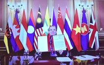 Anh nhấn mạnh nâng cao năng lực chấp pháp trên biển cùng ASEAN