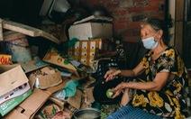 Xóm trọ nghèo xơ xác trong đại dịch