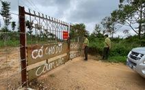 Nhận khiếu nại vụ 'tự ý san ủi đất', lãnh đạo Sở Tài nguyên và môi trường nói phạt là đúng