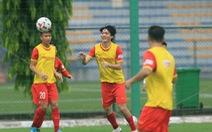 Tuấn Anh trở lại tập luyện cùng đội tuyển Việt Nam