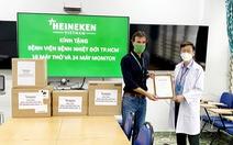 HEINEKEN Việt Nam ủng hộ máy thở cho bệnh viện Nhiệt đới TP.HCM