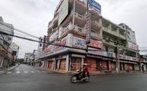 Thủ Dầu Một ngày đầu nới giãn cách: Hàng quán im lìm, chợ vẫn đóng cửa
