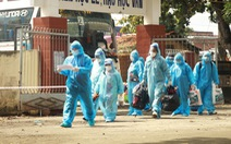 21 thai phụ cùng người thân được Long An đón từ TP.HCM về an toàn