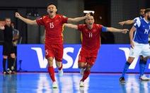 Futsal Việt Nam - Panama (hiệp 1): 1-0: Minh Trí mở tỉ số