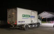 Đề nghị thu hồi giấy nhận diện có mã QR của xe tải đông lạnh chở 15 người về quê