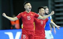 Tuyển futsal Việt Nam: Quyết đấu với Panama để nuôi hy vọng