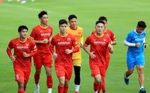 Công Phượng trở lại tập luyện cùng đội tuyển để chuẩn bị đá với Trung Quốc