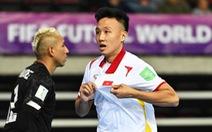 Futsal Việt Nam - CH Czech (hiệp 1) 0-0