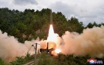 Bình Nhưỡng chỉ trích Mỹ 'hai mặt' khi phản đối Triều Tiên thử nghiệm tên lửa