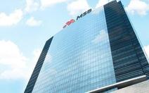MSB chia cổ tức 30% bằng cổ phiếu