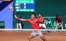 Quần vợt Việt Nam quyết thắng Malaysia để thăng hạng Davis Cup