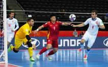 Futsal Việt Nam - CH Czech (hiệp 1) 0-0: Đoàn Phát bỏ lỡ cơ hội