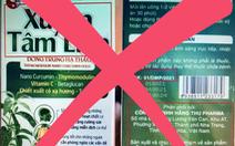 Cảnh báo 'Xuyên Tâm Liên - thần dược hỗ trợ điều trị, phòng chống COVID-19' là giả mạo