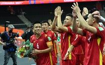 Futsal Việt Nam gặp Nga ở vòng 16 đội World Cup 2021