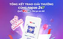 Hơn 6.000 khách hàng nhận thưởng chương trình 'Quét VietQR - Thả ga ưu đãi'