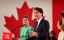 Ông Justin Trudeau tái đắc cử thủ tướng Canada