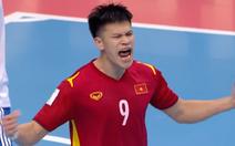 Futsal Việt Nam - Nga (hiệp 1) 1-2: Đắc Huy ghi bàn