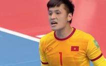 Futsal Việt Nam - Nga (hiệp 1) 0-1: Robinho mở tỉ số
