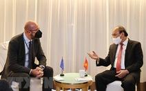 Chủ tịch nước tiếp lãnh đạo EU, Thụy Sĩ, Mông Cổ
