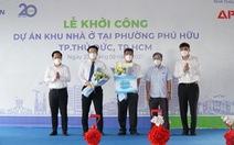 TP.HCM: Thủ Đức khởi công 4 công trình nhà ở, trường học