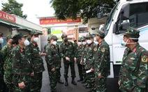 Bộ Quốc phòng điều 3 xe labo xét nghiệm hỗ trợ Tây Ninh chống dịch