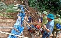 Phát hiện hầm và máy móc đào vàng trái phép gần Khu bảo tồn thiên nhiên Pù Luông