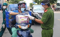 Đơn hàng thực phẩm 'đi chợ online' tăng mạnh ở TP.HCM