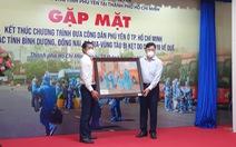 Phú Yên cảm ơn TP.HCM đã đồng hành đưa người dân khó khăn về quê