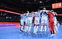 Đánh bại Brazil, Argentina giành vé vào chung kết Futsal World Cup 2021