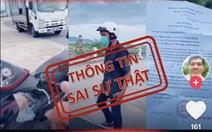 Xử phạt thanh niên chia sẻ thông tin sai sự thật trên TikTok để câu khách