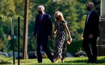Vợ chồng ông Biden thăm 3 địa điểm bị tấn công khủng bố ngày 11-9