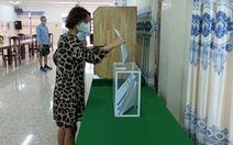 Công dân Nga ở Khánh Hòa bỏ phiếu bầu đại biểu Duma quốc gia