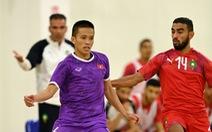 Đội tuyển futsal Việt Nam nỗ lực đạt kết quả tốt dành tặng người hâm mộ
