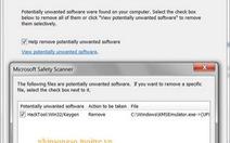 Microsoft Safety Scanner: nhỏ gọn và bảo vệ linh hoạt