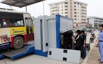 Dùng trạm kiểm định lưu động kiểm tra lỗi ôtô