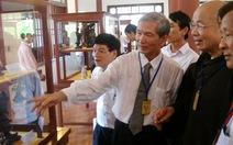 Khai mạc triển lãm di sản văn hóa Phật giáo tại Huế