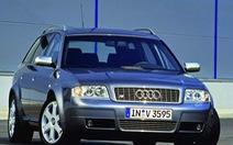 Audi thu hồi hàng loạt xe đời 2001-2004