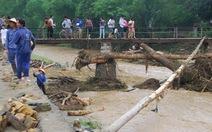 Lũ quét tàn phá Lào Cai