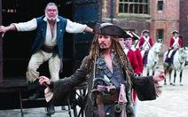 Cướp biển vùng Caribê 4: Johnny Depp cứu bộ phim!