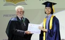 10 học sinh nhận bằng tú tài quốc tế