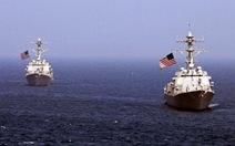Mỹ tập trận hải quân với các nước ASEAN