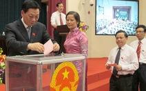 Ông Nguyễn Thế Thảo tái đắc cử chủ tịch UBND TP Hà Nội